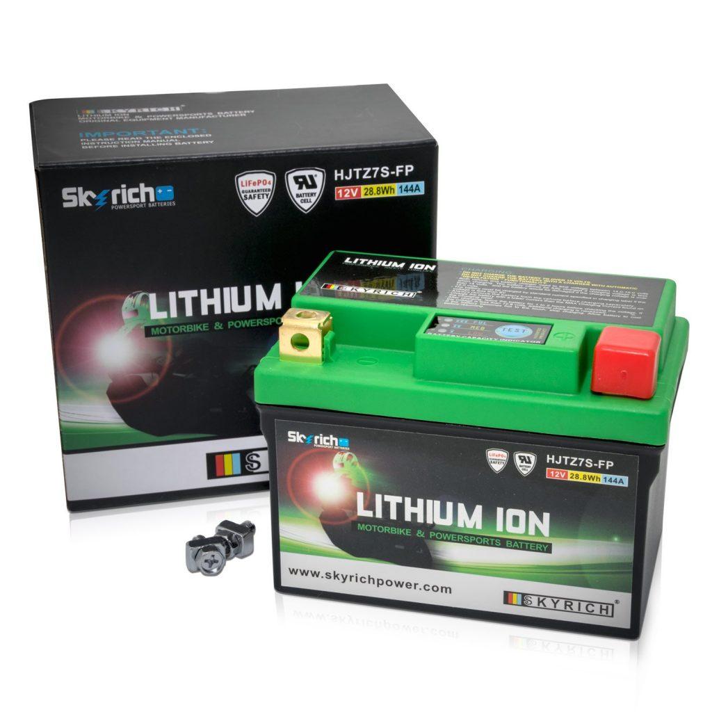 skyrich bateria litio moto comprar opiniones amazon+